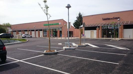 Aménagement neuf d'un centre commercial